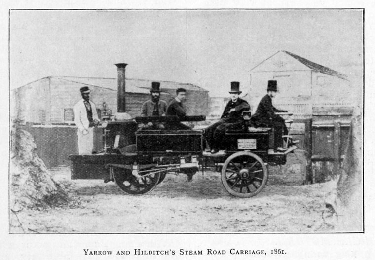 Yarrow-and-Hilditchs-steam-road-carriage-1861